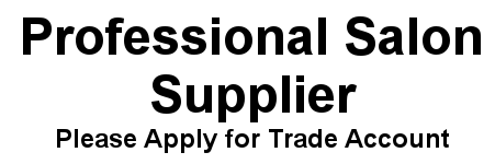 Professional Salon Supplier. Please apply for a trade account