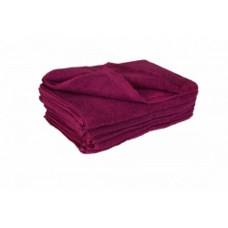 burgundy-towels